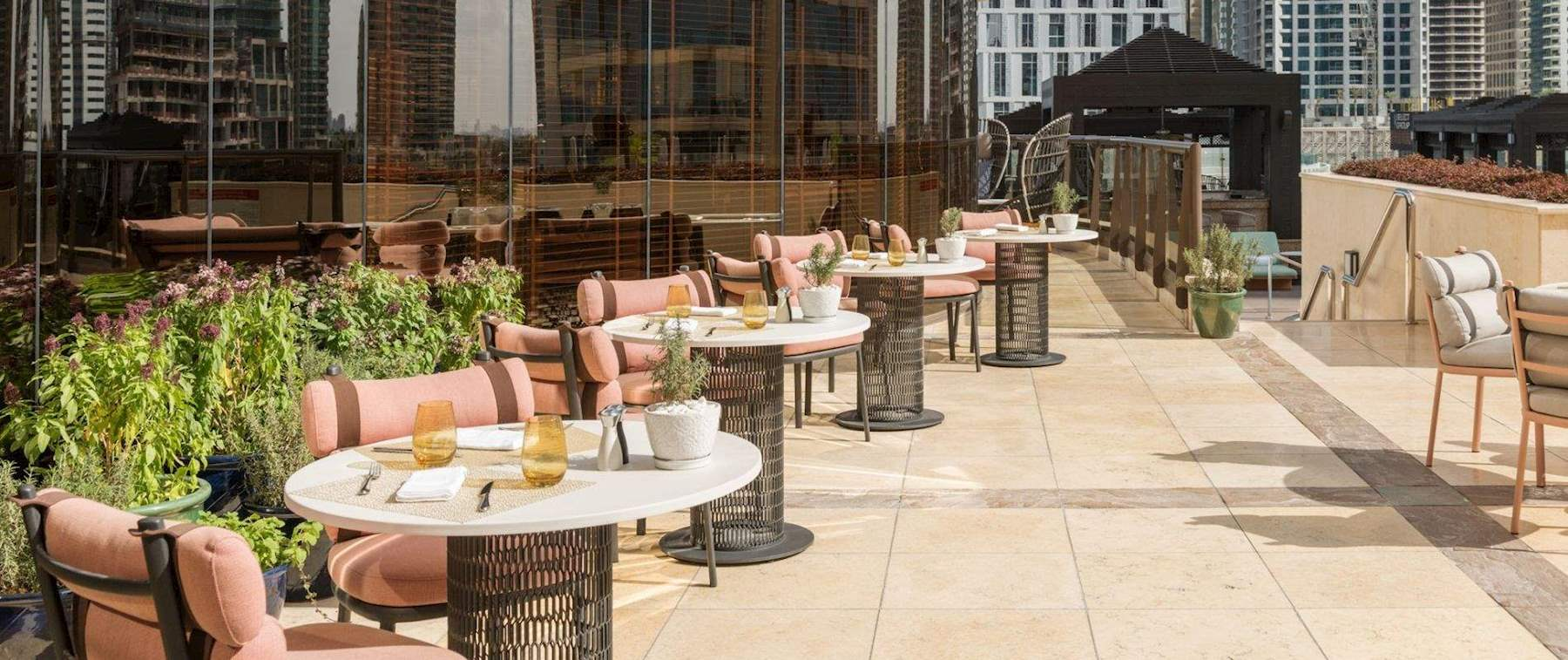 Outdoor Patio Area at Bellavista, Dubai